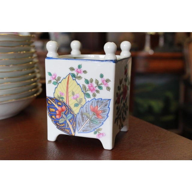 Late 20th Century Tobacco Leaf Planter For Sale - Image 4 of 6