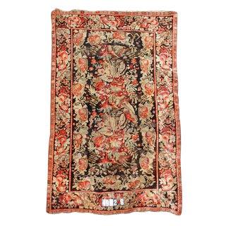 Red Floral Karabagh Rug - 5′9″ × 8′5″ For Sale