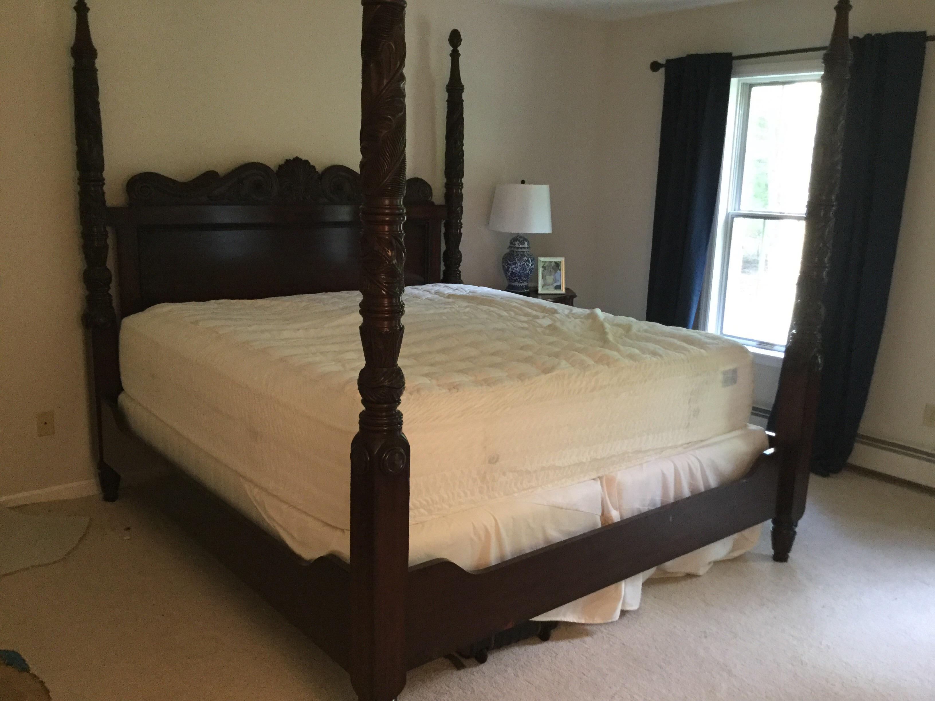 Ralph Lauren Safari Four Post Mahogany King Bed   Image 3 Of 7