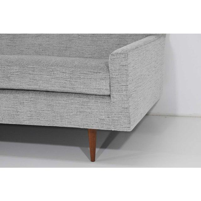 Gray Milo Baughman for Thayer Coggin Sofa For Sale - Image 8 of 12