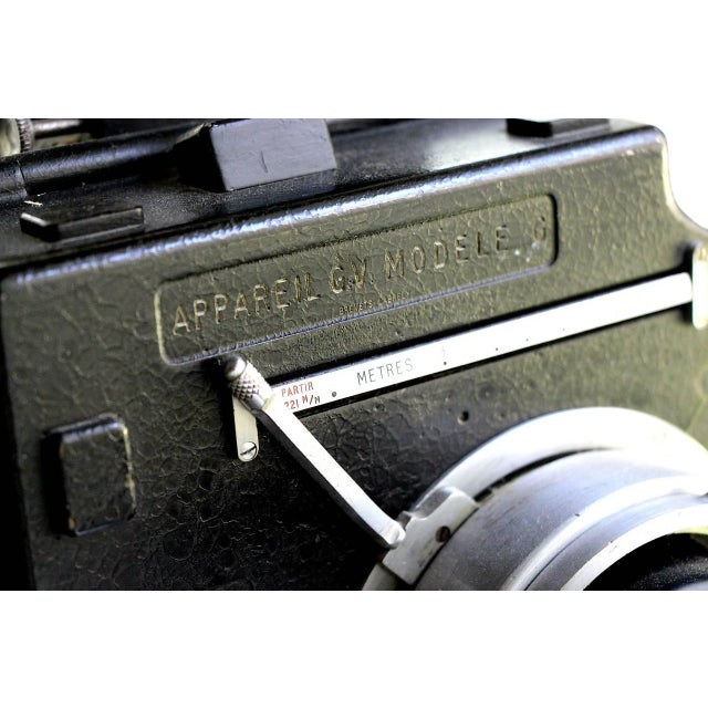 Andre Debrie 35mm Cinema Camera Circa 1925 Complete and Working As Sculpture For Sale In Dallas - Image 6 of 10