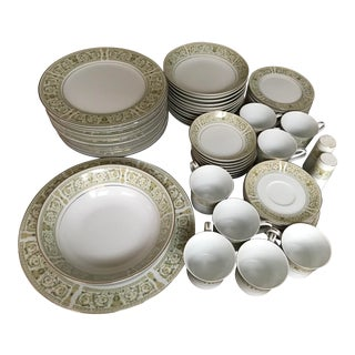 Vintage Felicity by Daniele Fine China - Set of 59 Pieces For Sale