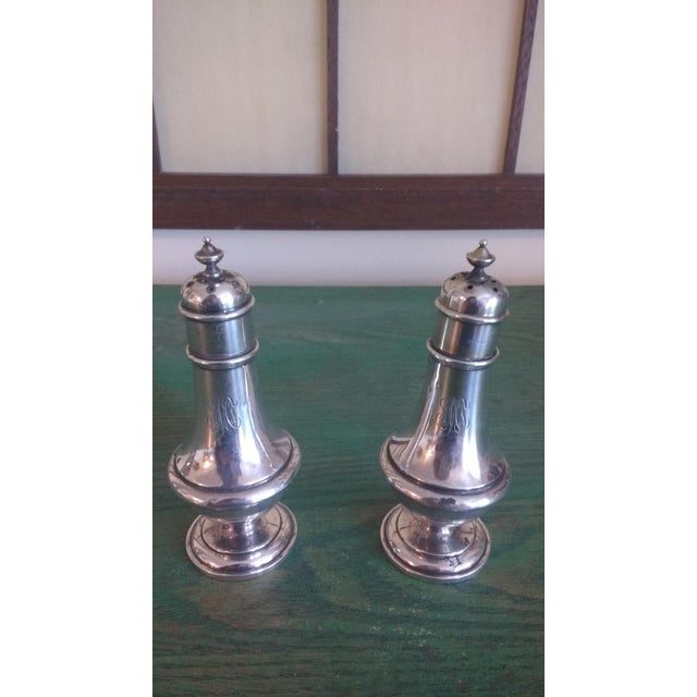Sterling Salt & Pepper - A Pair - Image 3 of 6