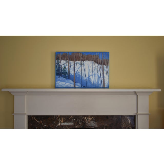 """Stephen Remick """"Sunny Ridgeline"""" Contemporary Painting For Sale - Image 11 of 12"""