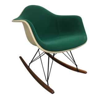 Herman Miller Upholstered Rocker For Sale