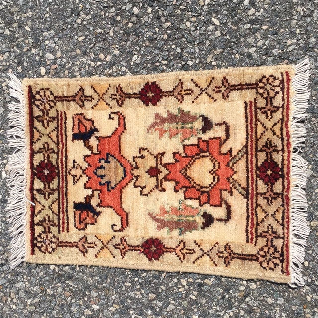 Sultanabad Persian Rug - 1′4″ × 1′11″ - Image 2 of 10