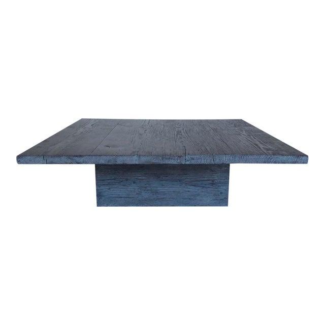 Custom Reclaimed Wood Coffee Table For Sale