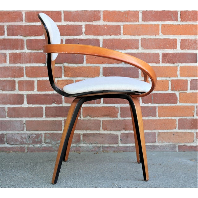 1950s Vintage Norman Cherner for Plycraft Molded Plywood Dining Chairs- Set of 6 For Sale - Image 10 of 13