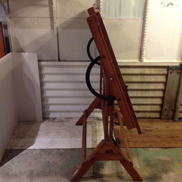 Antique Architect Drafting Table - Image 3 of 8