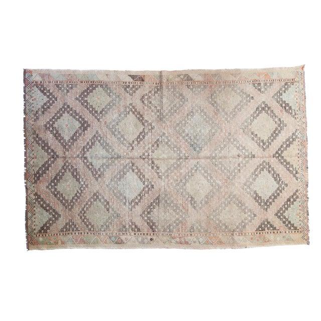 """Vintage Jijim Carpet - 5'6"""" X 8'8"""" - Image 1 of 6"""