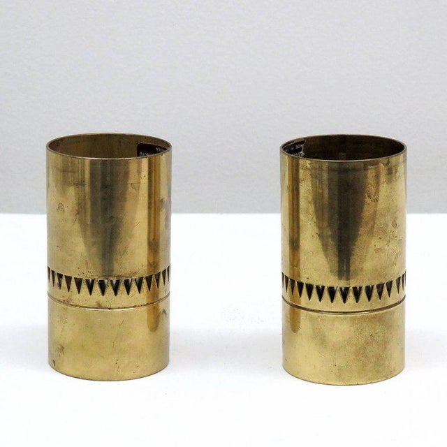 Hans-Agne Jacobson Candle Shades - A Pair - Image 2 of 9
