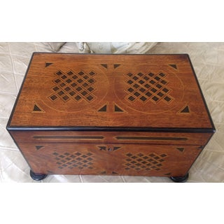 19th Century English Traditional Walnut Tea Chest Preview