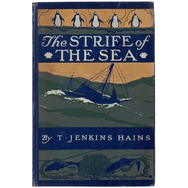 'The Strife of the Sea' Book by T. Jenkins Hains - Image 1 of 5