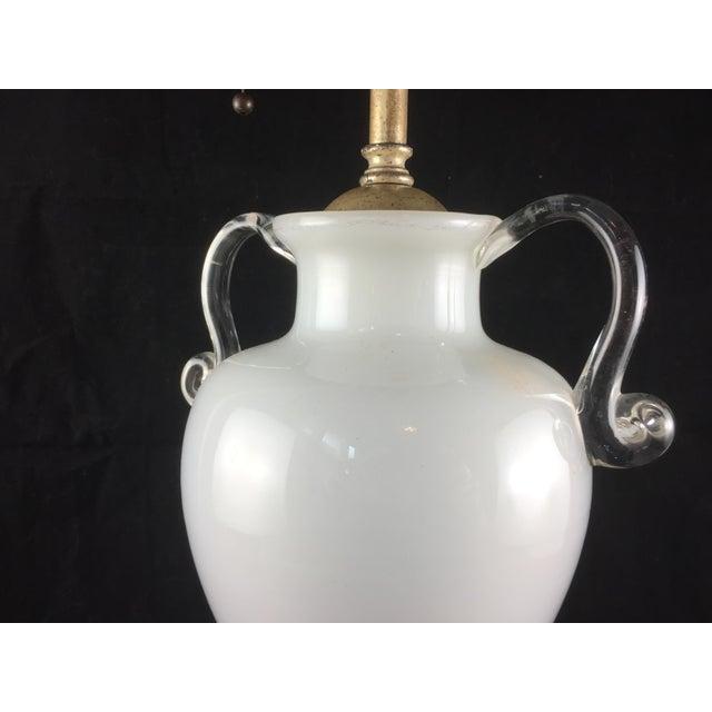 Bohemian Kralik Amphora Urn Table Lamp - Image 3 of 11
