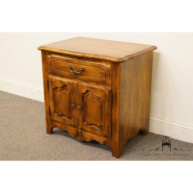 """Ethan Allen Ethan Allen Country French Collection 26"""" Nightstand 26-5316 - Finish 236 For Sale - Image 4 of 13"""