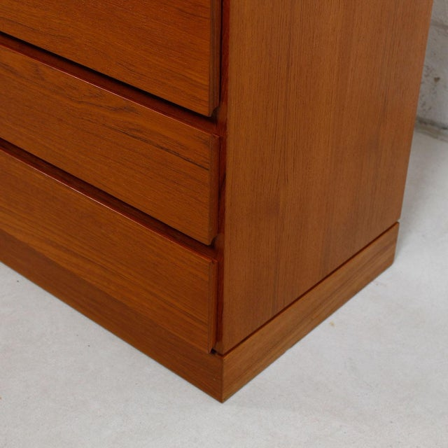 Vinde Mobelfabrik Danish Modern 10-Drawer Dresser For Sale In Washington DC - Image 6 of 10