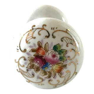 Mid 20th Century Vintage White Porcelain Doorknob For Sale