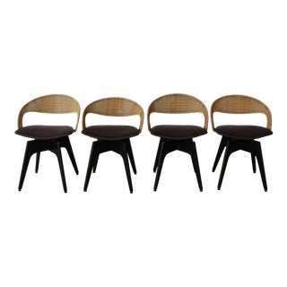 Mid Century 1960s Dining Chairs by Chet Beardsley - Set of 4 For Sale