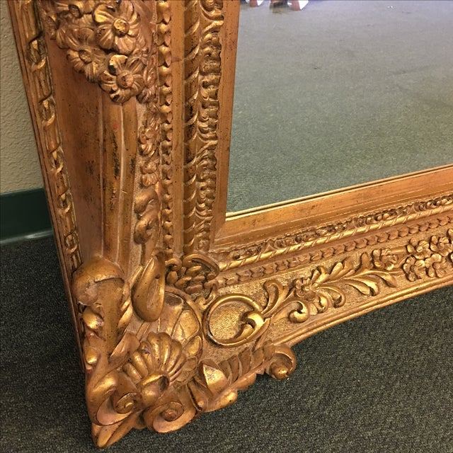 Carved Gilt Wall Mirror - Image 5 of 10