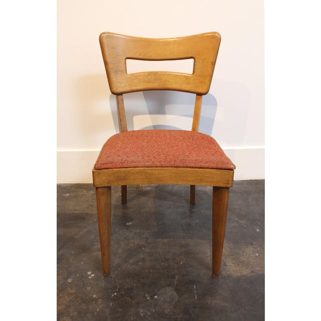 "Mid-Century Modern Heywood Wakefield ""Dog-Bone"" Dining Chairs - Set of 6 - Image 4 of 11"