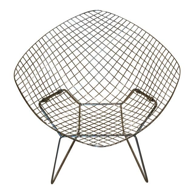 Harry Bertoia Diamond Chair for Knoll   Chairish