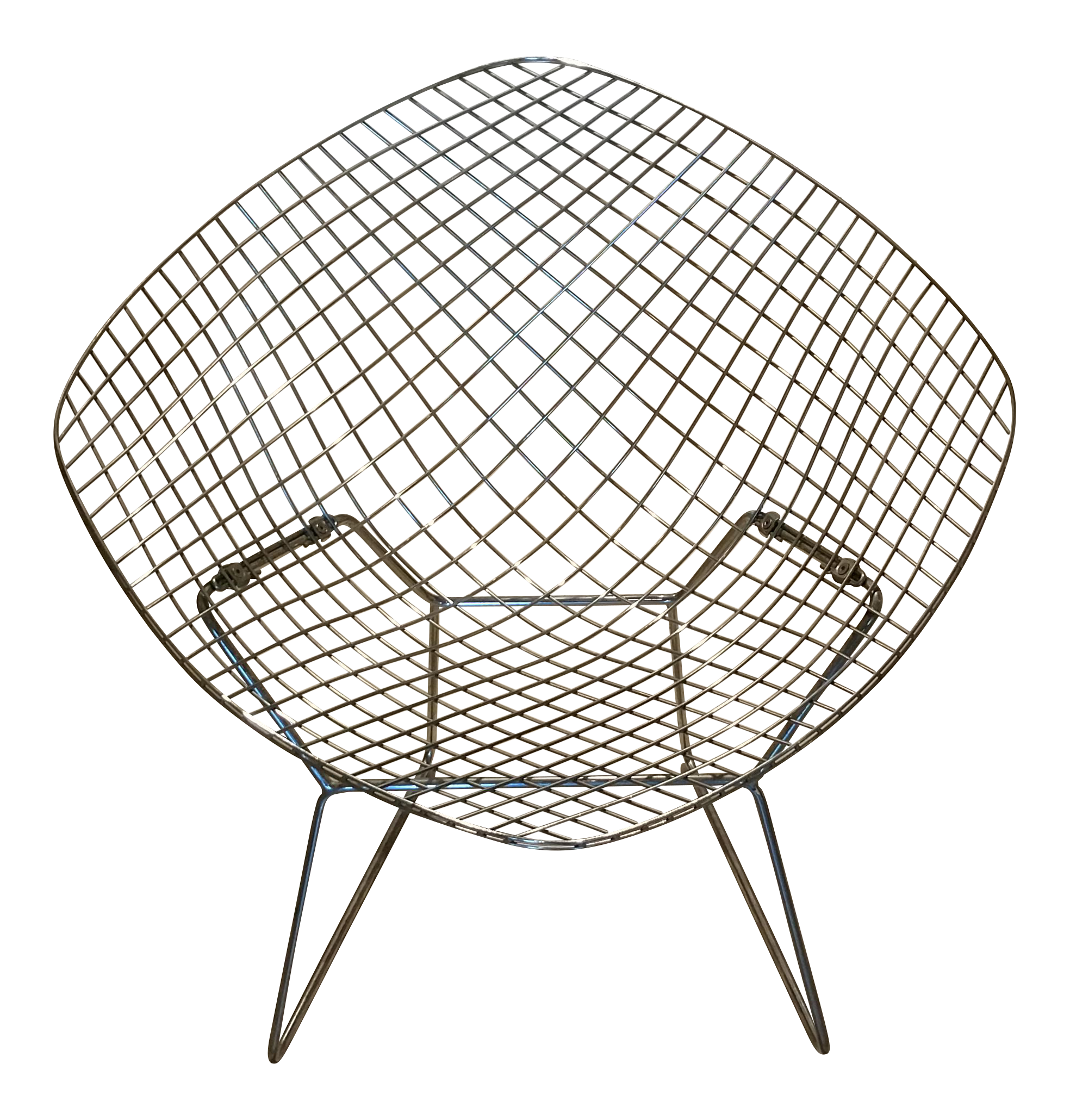 Simple Harry Bertoia Diamond Chair For Knoll Image Of With Chaise