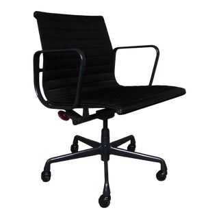 1990s Vintage Herman Miller Eames Aluminum Group Management Chair For Sale