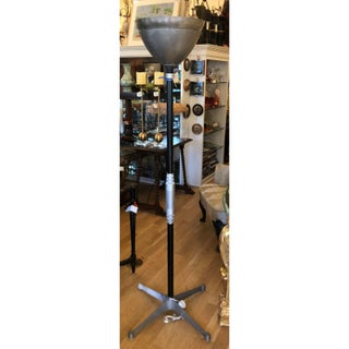 Art Deco Walter Von Nessen Style Machine Age Industrial Floor Lamp Preview