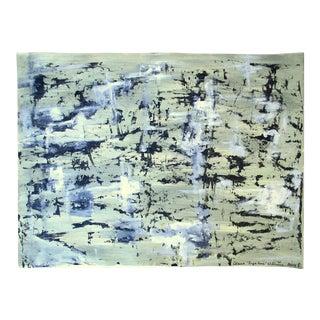Alaina Suga Lane Modern Abstract Acrylic on Paper
