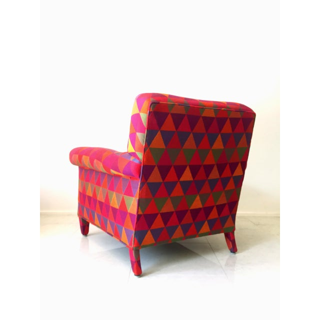 Jack Lenor Larsen Style Vintage Lounge Chair - Image 5 of 7