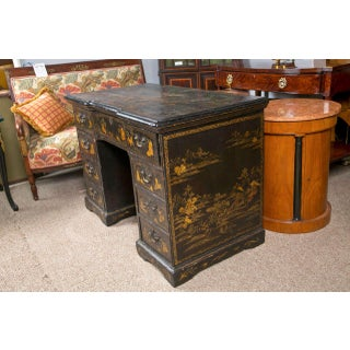 19th-C. Chinoiserie Knee Hole Desk Preview