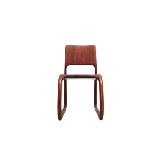 Sculptural Walnut Chair by David Flatt For Sale - Image 13 of 13