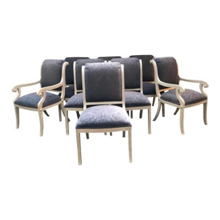 Kreiss Dining Chairs - Set of 8 For Sale