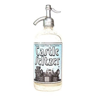 Castle Seltzer Bottle from Derby, Connecticut