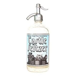 Castle Seltzer Bottle from Derby, Connecticut