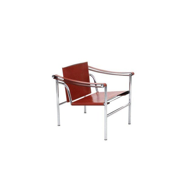Cassina Pair of Le Corbusier LC1 Lounge Chairs for Cassina For Sale - Image 4 of 12