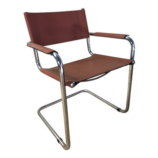 Mid Century Modern Mart Stam Cantilever Armchair For Sale