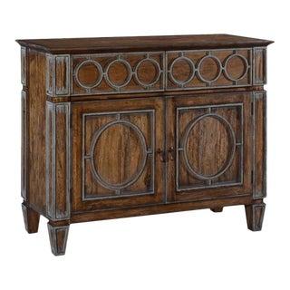 Server Sideboard San Maria Rustic Pecan Wood For Sale