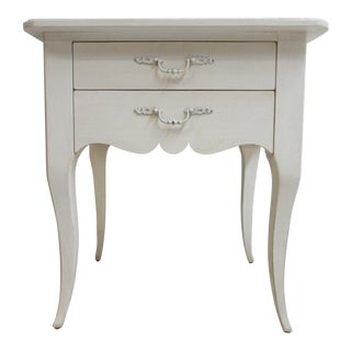 Ethan Allen Maison French Country Lamp End Table / Night Stand