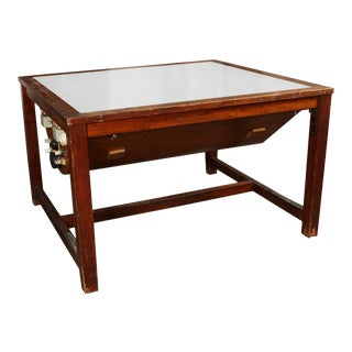Early 1900s Light Table For Sale