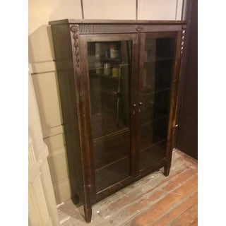 1920s Glass Door Mahogany Bookcase Preview