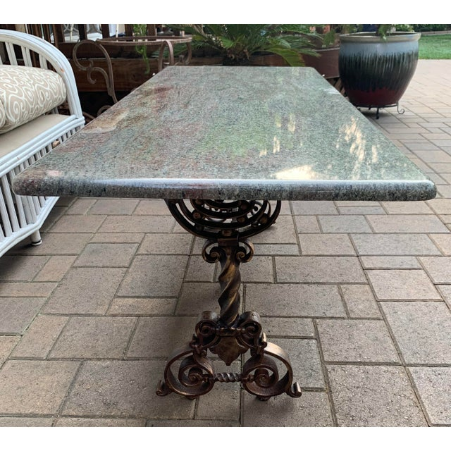 Metal Arts & Crafts Coffee Table For Sale - Image 7 of 7