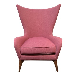 Caracole New What's New Pussycat Wing Chair For Sale