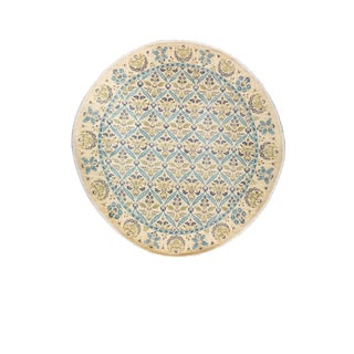 """""""Calico"""", Suzani Hand Knotted Area Rug - 10' 1"""" X 10' 1"""" For Sale"""