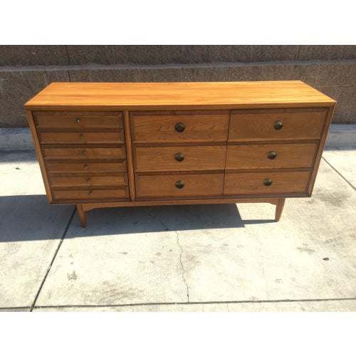 Mid Century Modern Credenza Dresser from the 1960s - Image 2 of 3