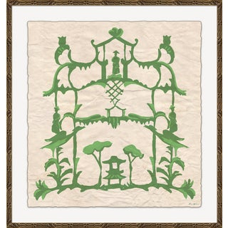 """Folly in Green"" By Dana Gibson, Framed Art Print For Sale"