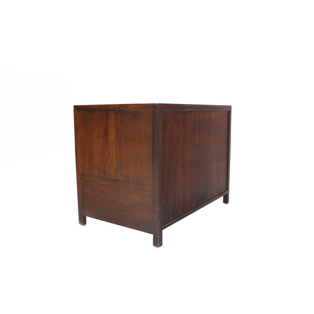 Wood Baker Walnut End Table Stand Accent Side Table. For Sale - Image 7 of 7