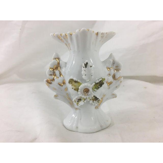 Miniature Old Paris Vases - a Pair For Sale - Image 6 of 8
