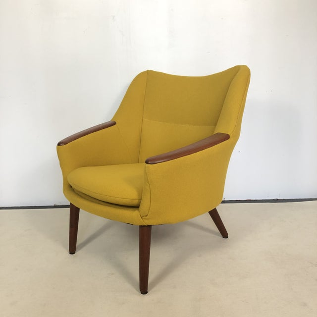 Mid-Century Modern Kurt Orstervig for Rolschau Mobelfabrik Lounge Chair For Sale - Image 3 of 12