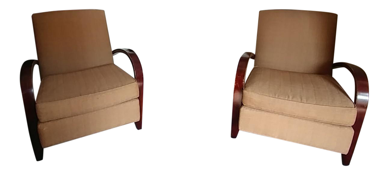 Room U0026 Board McCreary Modern Chairs   A Pair